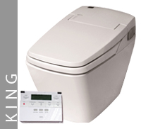 Luxury King Eco Bidet Button