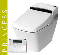 Luxury Princess Eco Bidet Button