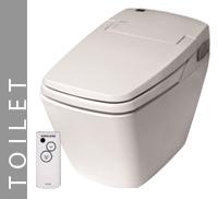 Luxury Toilet Eco Bidet Button