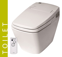 Luxury Toilet Eco Bidet Button