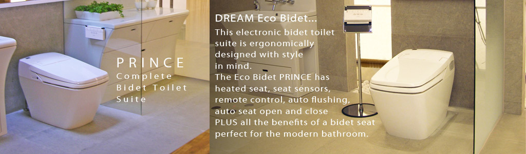 luxury eco throne bidet prince