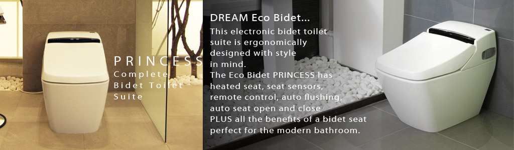 luxury eco throne bidet princess